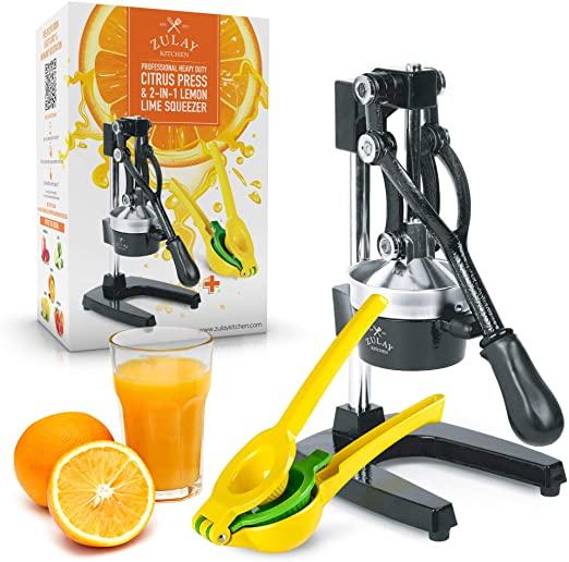 Zulay Metal Citrus Press Juicer